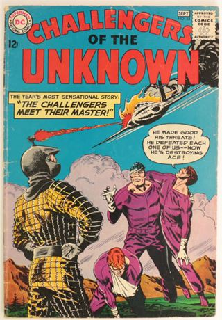 Challengers of The Unknown #33 GD+ 1963