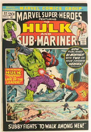 Marvel Super-Heroes #32 F/VF 1972