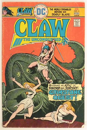 Claw The Unconquered #5 G/VG 1976