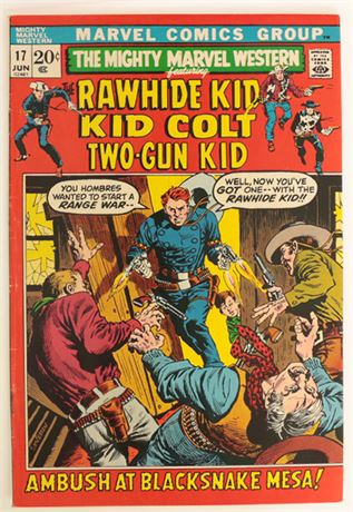 Mighty Marvel Western #17 VG+ 1972