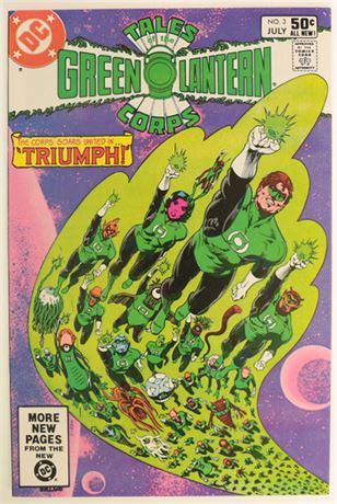 Tales of the Green Lantern Corps #3 VF 1981