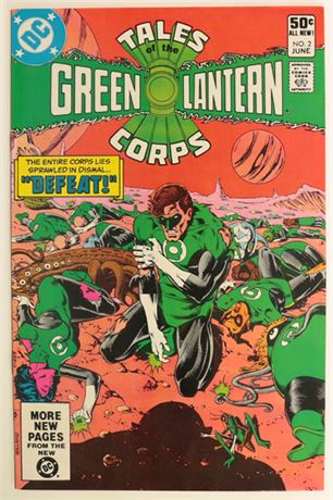 Tales of the Green Lantern Corps #2 VF 1981