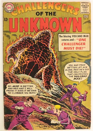 Challengers of The Unknown #32 G/VG 1963