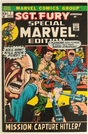 Special Marvel Edition #7 FN- 1972