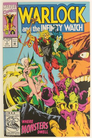 Warlock and The Infinity Watch #7 NM- 1992