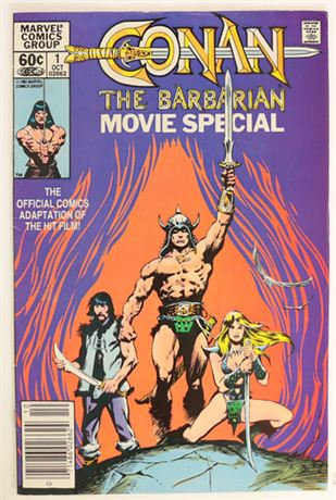 Conan The Barbarian Movie Special #1 VG/F 1982