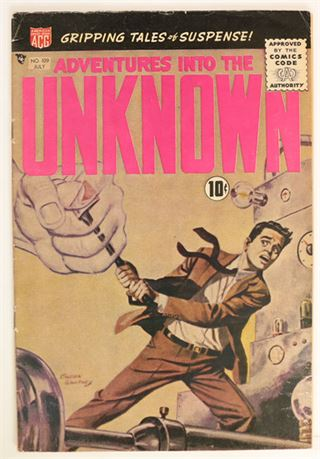 Adventures Into The Unknown #109 VG 1959