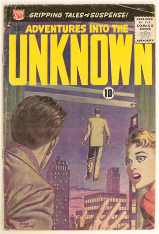 Adventures Into The Unknown #111 VG 1959
