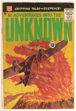 Adventures Into The Unknown #112 VG 1959