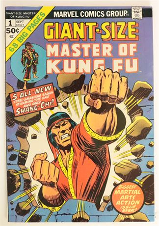 Giant-Size Master of Kung Fu #1 VF- 1974