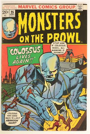 Monsters On The Prowl #25 FN- 1973