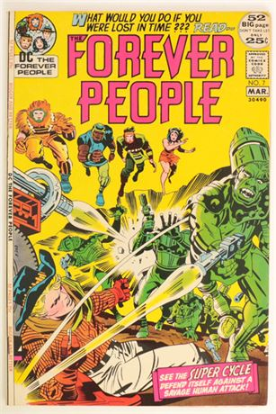Forever People #7 VF 1972