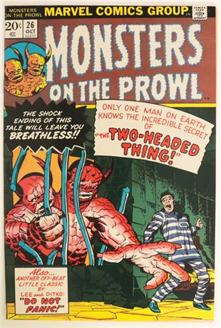 Monsters On The Prowl #26 FN- 1973