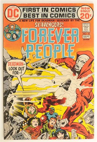 Forever People #10 VG+ 1972