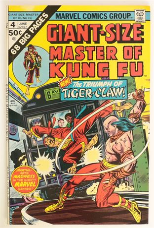 Giant-Size Master of Kung Fu #4 VF- 1975