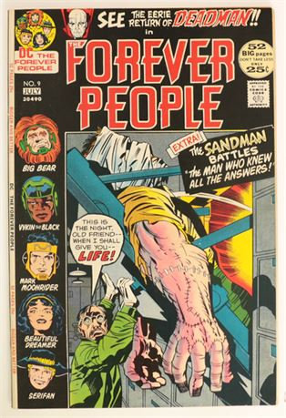 Forever People #9 VF- 1972