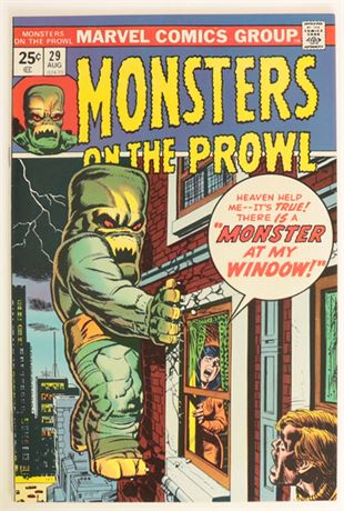 Monsters On The Prowl #29 VF- 1974