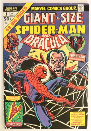 Giant-Size Spider-Man #1 FN+ 1974
