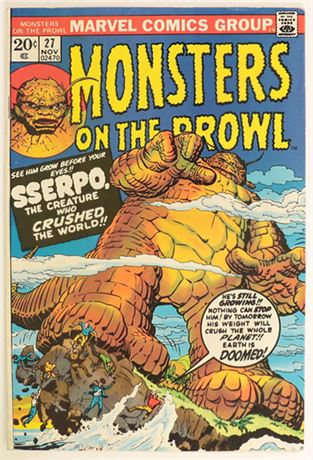 Monsters On The Prowl #27 FN- 1973