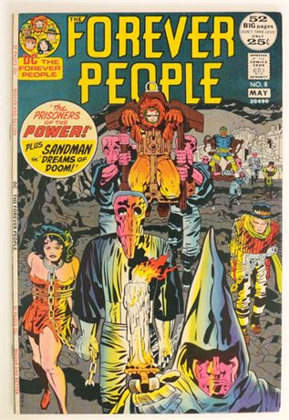 Forever People #8 VF 1972