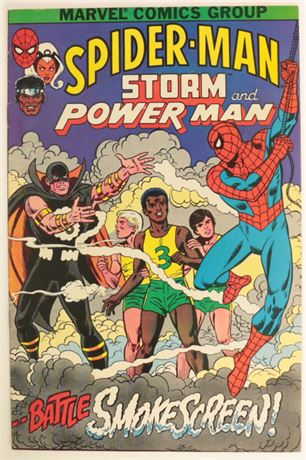 Spider-Man, Storm and Power Man V/FN 1982