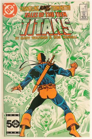 Tales of the Teen Titans #55 VF+ 1985