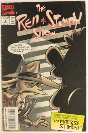 The Ren and Stimpy Show #8 G/VG 1993