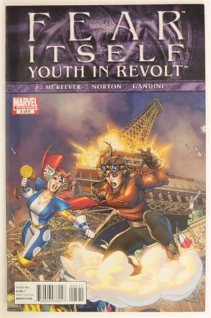 Fear Itself: Youth in Revolt #5 VF- 2011
