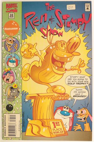 The Ren and Stimpy Show #33 FN 1995