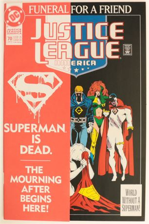 Justice League of America #70 VF 1993
