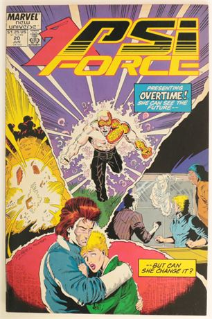 PSI Force #20 FN 1988