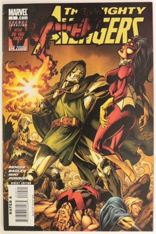 The Mighty Avengers #9 VF- 2008