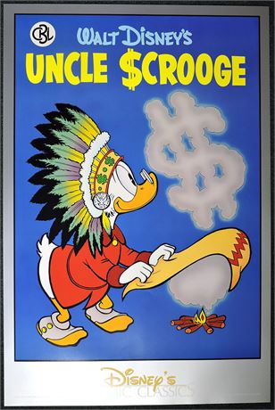 Comic Book Library Poster #3 Uncle Scrooge