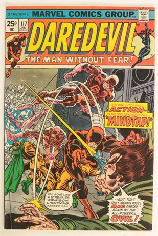 Daredevil #117 VF- 1975