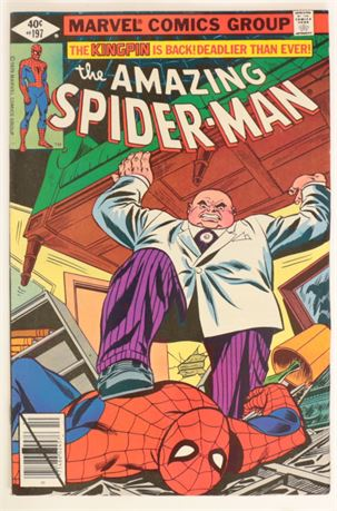 Amazing Spider-Man #197 VF- 1979