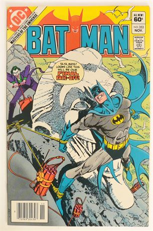 Batman #353 VF- 1982