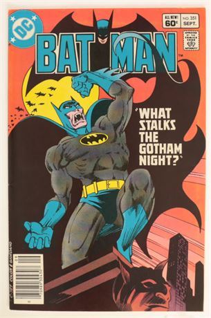 Batman #351 F/VF 1982