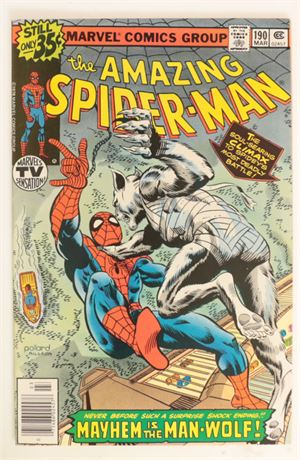 Amazing Spider-Man #190 VF 1979
