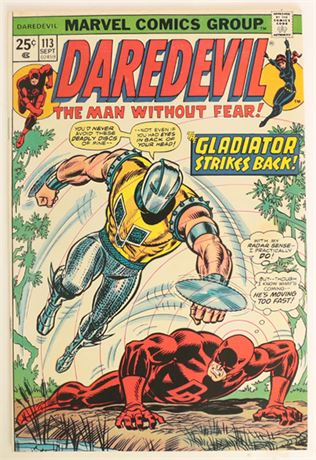 Daredevil #113 F/VF 1974