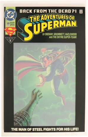 Adventures of Superman #500 NM- 1993