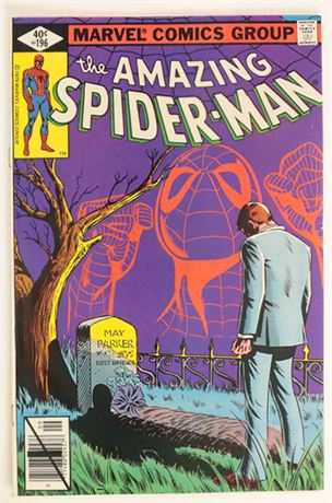 Amazing Spider-Man #196 VF- 1979