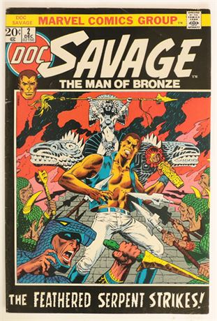 Doc Savage #2 FN 1972