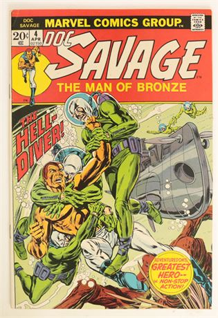 Doc Savage #4 F/VF 1973