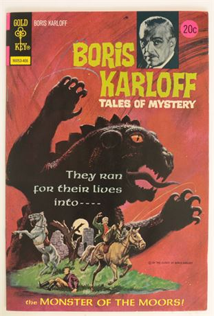 Boris Karloff Tales of Mystery #54 VF- 1974