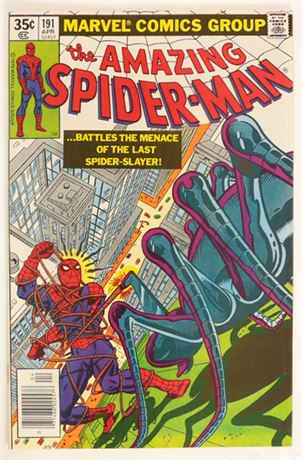 Amazing Spider-Man #191 VF+ 1979