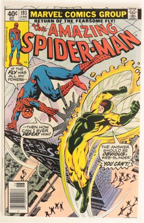 Amazing Spider-Man #193 F/VF 1979