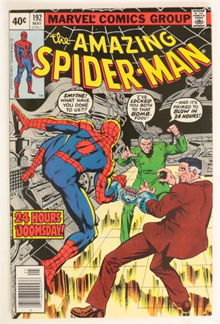 Amazing Spider-Man #192 VF- 1979