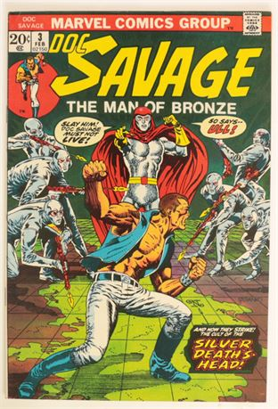 Doc Savage #3 VF- 1972