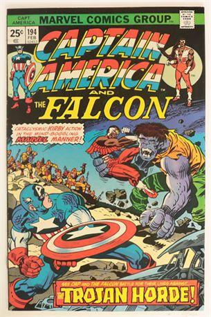 Captain America #194 F/VF 1976