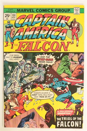 Captain America #191 F/VF 1975